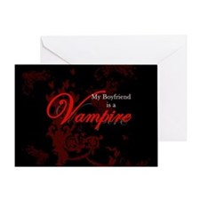 Boyfriend Vampire V2 Greeting Card
