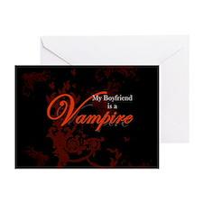 Boyfriend Vampire V2 Greeting Cards (Pk of 20)
