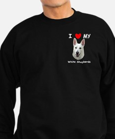White German Shepherd Sweatshirt