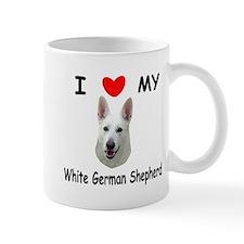 White German Shepherd Mug