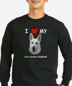 White German Shepherd T