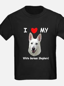White German Shepherd T