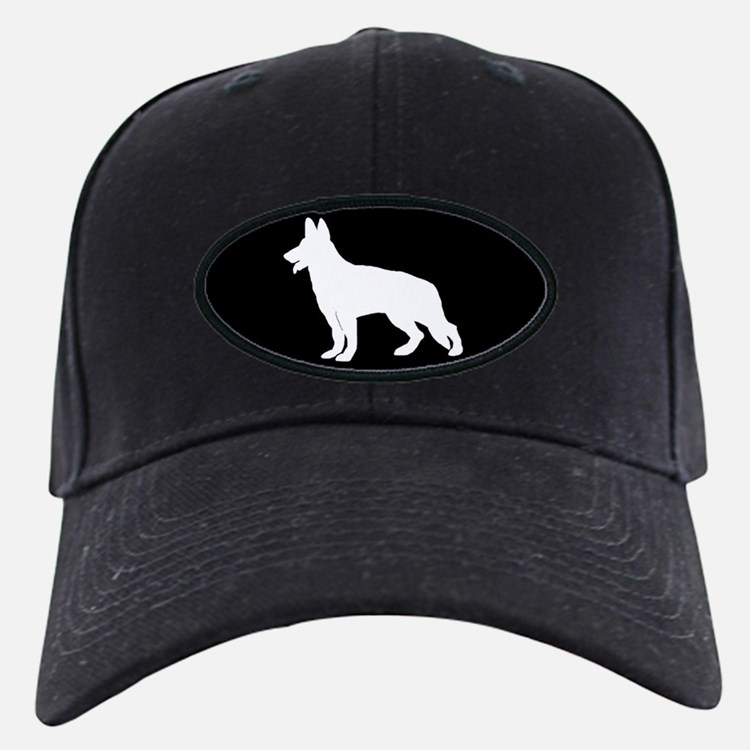 White German Shepherd Baseball Hat
