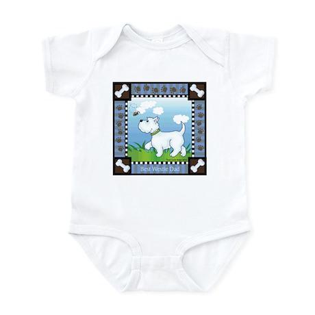 Best Westie Dad Infant Bodysuit