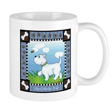 Best Westie Dad Small Mug