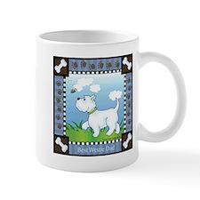 Best Westie Dad Small Mugs