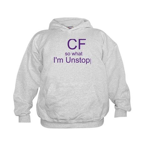 child unstoppable Kids Hoodie