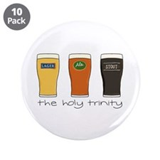 "The Holy Trinity - 3.5"" Button (10 pack)"