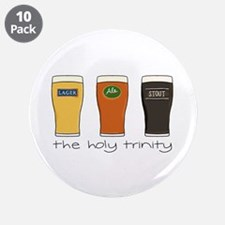 """The Holy Trinity - 3.5"""" Button (10 pack)"""