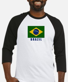 Cool Brazil flag Baseball Jersey