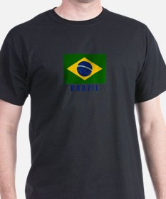 Unique Brazil flag T-Shirt
