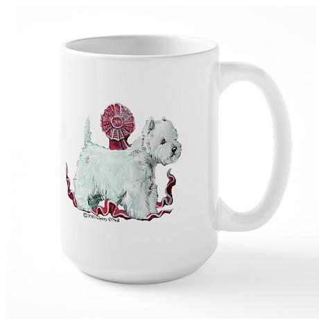 West Highland Dog Show Large Mug