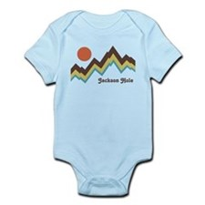 Jackson Hole Wyoming Infant Bodysuit