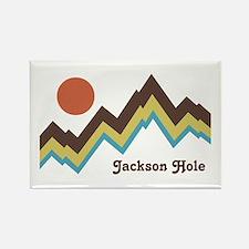 Jackson Hole Wyoming Rectangle Magnet