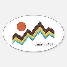 Lake Tahoe Sticker (Oval)