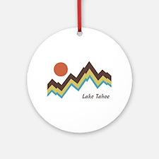 Lake Tahoe Ornament (Round)