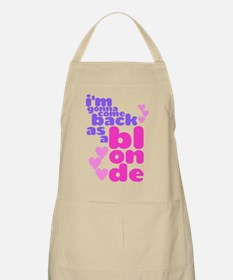As A Blonde Apron