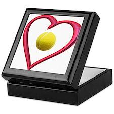 TENNIS LOVE Keepsake Box
