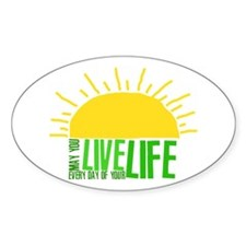 Live Everyday Decal