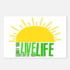 Live Everyday Postcards (Package of 8)