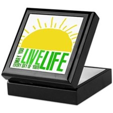 Live Everyday Keepsake Box