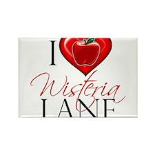 I Heart Wisteria Lane Rectangle Magnet