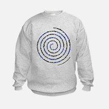 Spiral Wrestler Words Sweatshirt