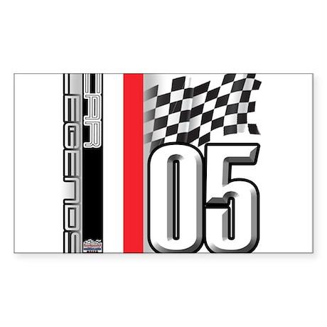 V FLAG 2005 Sticker (Rectangle)