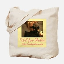 Us for Palin Tote Bag