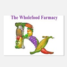 Wholefood Farmacy Logo Postcards (Package of 8)