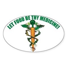 Wholefood Farmacy Logo Oval Decal