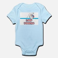 I Swim Freestyle Infant Creeper