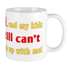 Witty 80th Birthday Mug