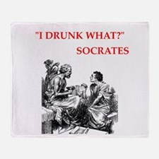 socrates Throw Blanket