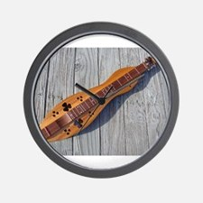 Dulcimer Love Wall Clock