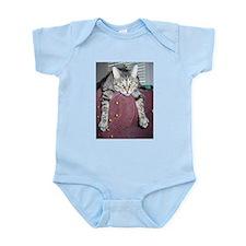 Cute Gray tabbies Infant Bodysuit