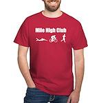 Mile-High-Club---tri-man-white T-Shirt