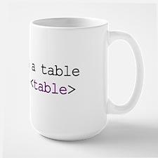 CSS HTML Mug