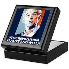 Ron Paul - The Revolution is Keepsake Box