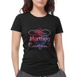W Wish You Were Here Maternity Dark T-Shirt