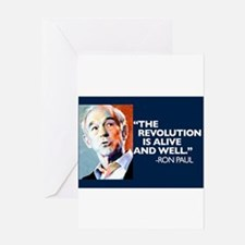 Ron Paul - The Revolution is Greeting Card