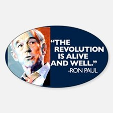Ron Paul - The Revolution is Decal