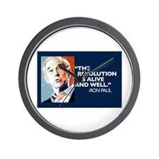 Ron Paul - The Revolution is Wall Clock