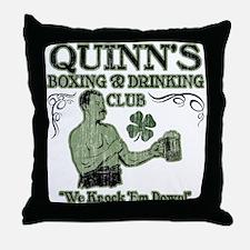 Quinn's Club Throw Pillow