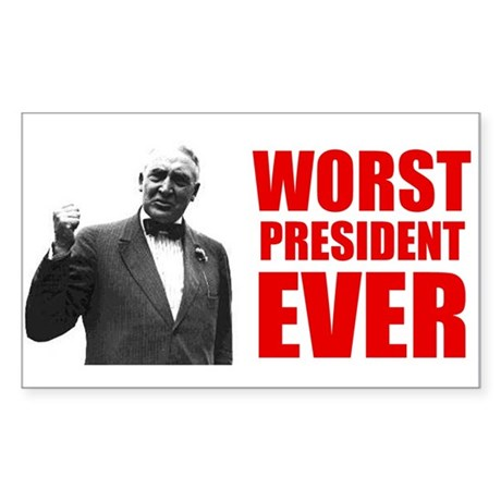 Warren G. Harding Bumper Sticker