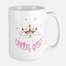 CAMPING QUEEN Large Mug