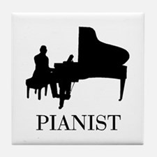PIANIST Tile Coaster