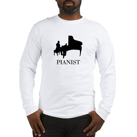PIANIST Long Sleeve T-Shirt