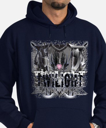 New Twilight Grunge Love Crest Hoodie (dark)