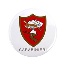 """Carabinieri 3.5"""" Button by Peter Bruce Photo"""